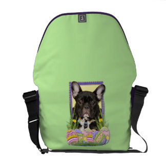Easter Egg Cookies - French Bulldog Courier Bag