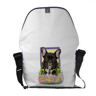 Easter Egg Cookies - French Bulldog Messenger Bags