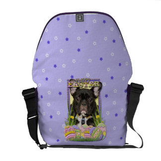 Easter Egg Cookies - French Bulldog Messenger Bag
