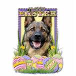 Easter Egg Cookies - German Shepherd Cut Outs