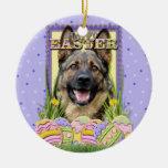 Easter Egg Cookies - German Shepherd Christmas Ornament