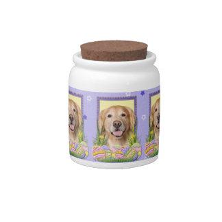 Easter Egg Cookies - Golden Retriever - Corona Candy Jars