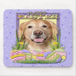 Easter Egg Cookies - Golden Retriever - Corona Mouse Pad