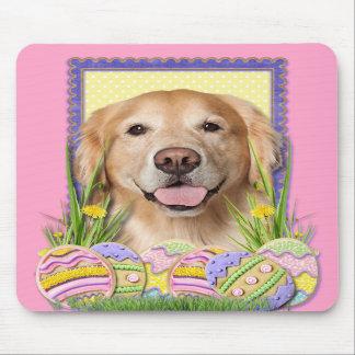 Easter Egg Cookies - Golden Retriever - Corona Mouse Pads