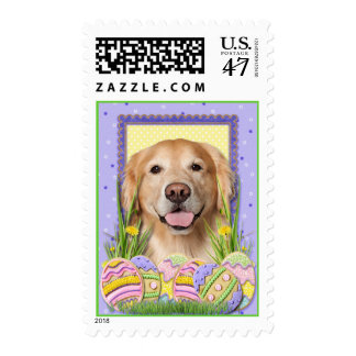 Easter Egg Cookies - Golden Retriever - Corona Postage