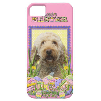 Easter Egg Cookies - GoldenDoodle iPhone SE/5/5s Case