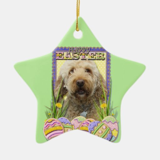 Easter Egg Cookies - GoldenDoodle Ornaments