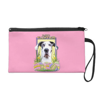 Easter Egg Cookies - Great Dane - Baron Wristlet Clutches