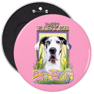 Easter Egg Cookies - Great Dane - Baron Pinback Buttons