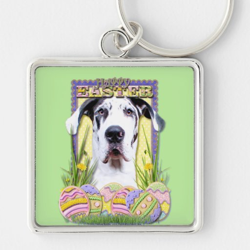 Easter Egg Cookies - Great Dane - Baron Key Chains