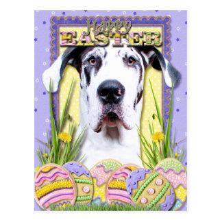 Easter Egg Cookies - Great Dane - Baron Postcard