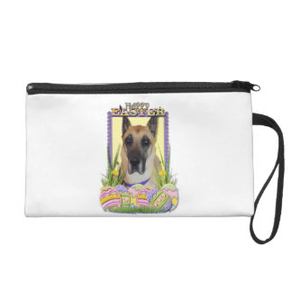 Easter Egg Cookies - Great Dane - Fawn Wristlet Clutch