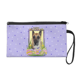 Easter Egg Cookies - Great Dane - Fawn Wristlet Purse