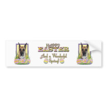 Easter Egg Cookies - Great Dane - Fawn Bumper Sticker