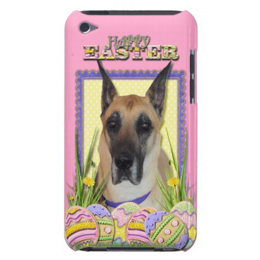 Easter Egg Cookies - Great Dane - Fawn Barely There iPod Case
