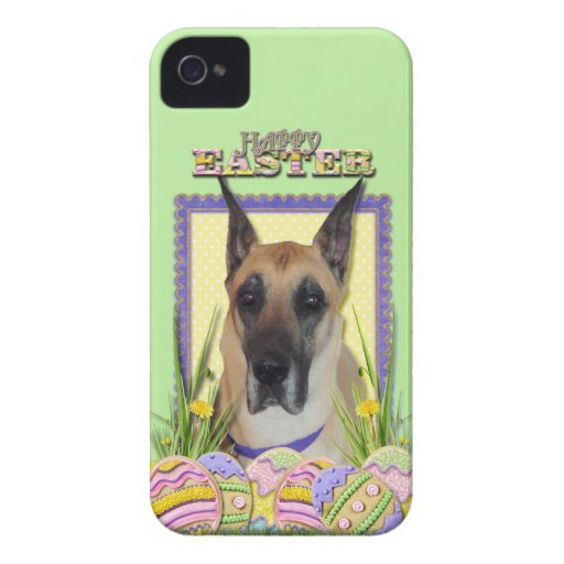 Easter Egg Cookies - Great Dane - Fawn iPhone 4 Covers