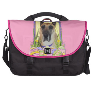 Easter Egg Cookies - Great Dane - Fawn Laptop Commuter Bag