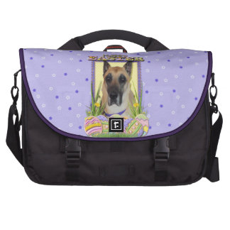 Easter Egg Cookies - Great Dane - Fawn Laptop Bags