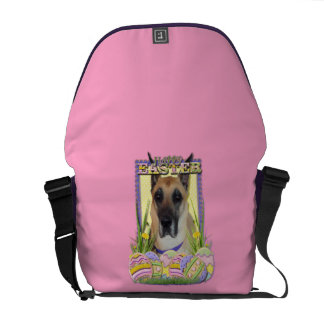 Easter Egg Cookies - Great Dane - Fawn Courier Bag