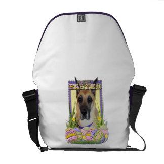 Easter Egg Cookies - Great Dane - Fawn Messenger Bag