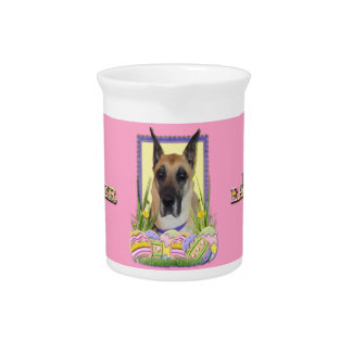 Easter Egg Cookies - Great Dane - Fawn Pitcher