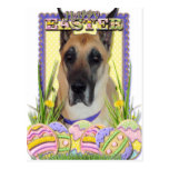 Easter Egg Cookies - Great Dane - Fawn Postcard
