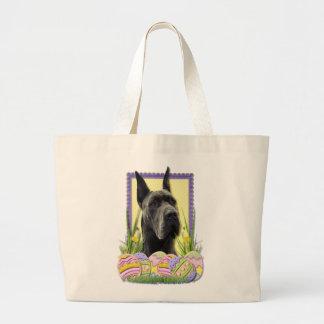 Easter Egg Cookies - Great Dane - Grey Canvas Bags