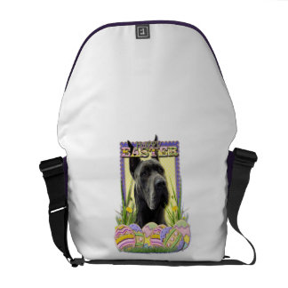 Easter Egg Cookies - Great Dane - Grey Courier Bags
