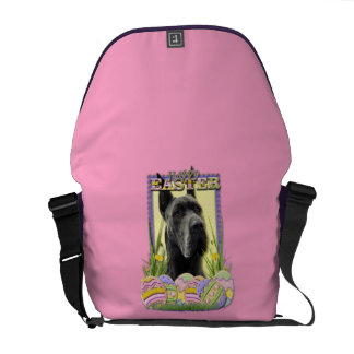 Easter Egg Cookies - Great Dane - Grey Courier Bag