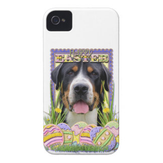 Easter Egg Cookies - Greater Swiss Mountain Dog iPhone 4 Case-Mate Case
