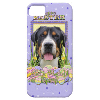 Easter Egg Cookies - Greater Swiss Mountain Dog iPhone SE/5/5s Case