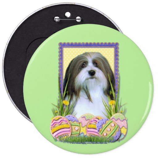 Easter Egg Cookies - Havanese Pinback Buttons