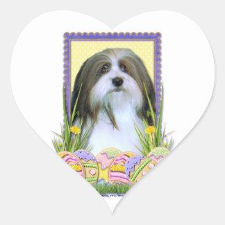 Easter Egg Cookies - Havanese Heart Sticker