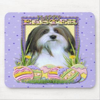 Easter Egg Cookies - Havanese Mousepad