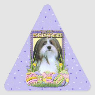 Easter Egg Cookies - Havanese Triangle Sticker