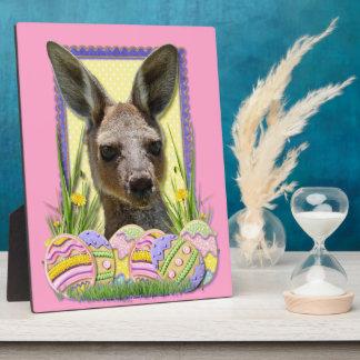 Easter Egg Cookies - Kangaroo Plaque