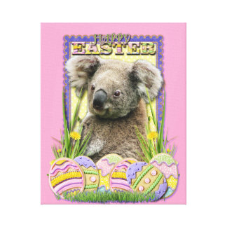 Easter Egg Cookies - Koala Gallery Wrapped Canvas