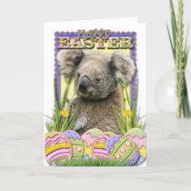 Easter Egg Cookies - Koala Holiday Card