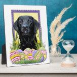 Easter Egg Cookies - Labrador - Black Plaques