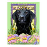 Easter Egg Cookies - Labrador - Black Post Cards