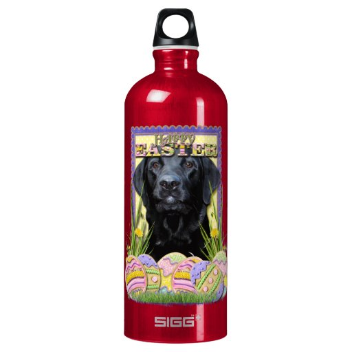 Easter Egg Cookies - Labrador - Black SIGG Traveler 1.0L Water Bottle