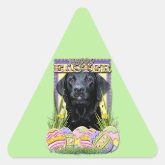Easter Egg Cookies - Labrador - Black Triangle Sticker