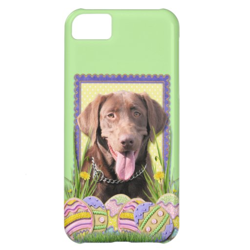 Easter Egg Cookies - Labrador - Chocolate iPhone 5C Covers