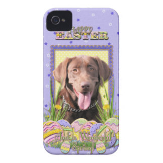 Easter Egg Cookies - Labrador - Chocolate iPhone 4 Cases