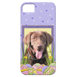 Easter Egg Cookies - Labrador - Chocolate iPhone SE/5/5s Case
