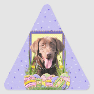 Easter Egg Cookies - Labrador - Chocolate Stickers
