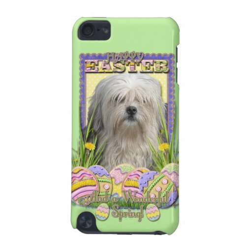 Easter Egg Cookies - Lowchen iPod Touch (5th Generation) Case