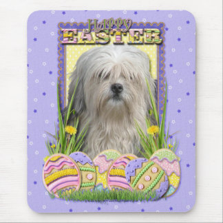 Easter Egg Cookies - Lowchen Mouse Pad