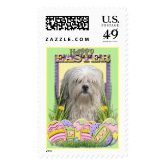 Easter Egg Cookies - Lowchen Stamps