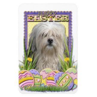 Easter Egg Cookies - Lowchen Flexible Magnet